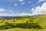 A View of the Outskirts of Hanga Roa, Rapa Nui National Park, Easter Island (Isla De Pascua) Photographic Print by Michael Nolan