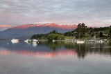 Sunrise over Lake Wanaka, Wanaka, Otago, South Island, New Zealand, Pacific Photographic Print by Stuart Black