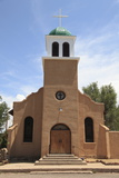 St. Josephs Church and Shrine, Cerrillos, Old Mining Town, Turquoise Trail, New Mexico, Usa Photographic Print by Wendy Connett