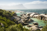 Second Beach at High Tide with Boulders Visible, Boulders Beach National Park, Simonstown Photographic Print by Kimberly Walker