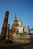 Wat Sa Sri, Sukhothai Historical Park, Sukhothai, Thailand, Southeast Asia, Asia Photographic Print by Tuul