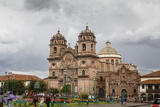 View over Iglesia De La Compania De Jesus Church on Plaza De Armas, Cuzco, Peru, South America Photographic Print by Yadid Levy