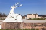 Sculpture of the Deer, Schloss Schwetzingen Palace, Palace Gardens Photographic Print by Markus Lange
