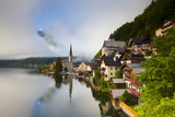 Village of Hallstatt, Hallstattersee, Oberosterreich (Upper Austria), Austria, Europe Photographic Print by Doug Pearson