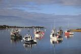 Fishing Boats, Harbor, Chatham, Cape Cod, Massachusetts, New England, Usa Fotodruck von Wendy Connett