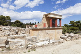 Minoan Palace, Palace of Knossos, North Entrance Photographic Print by Markus Lange