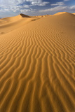 Orange Sand Dunes and Sand Ripples, Erg Chebbi Sand Sea, Sahara Desert Near Merzouga Photographic Print by Lee Frost