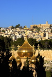 View of Jerusalem from the Mount of Olives, Jerusalem, Israel, Middle East Photographic Print by Neil Farrin