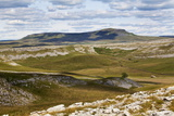 Plover Hill and Pen Y Ghent from Long Scar Above Crummack, Crummack Dale, Yorkshire Dales Photographic Print by Mark Sunderland