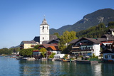 Parish Church, St. Wolfgang, Wolfgangsee Lake, Flachgau, Salzburg, Upper Austria, Austria, Europe Photographic Print by Doug Pearson