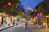 Street Scene at Dusk, Hoi An, Quang Nam, Vietnam, Indochina, Southeast Asia, Asia Photographic Print by Ian Trower