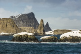 Dramatic Reefs and Islets in English Strait, South Shetland Island Group, Drake Passage Photographic Print by Michael Nolan