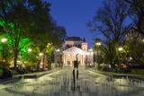 Ivan Vasov, National Theatre, City Garden Park, Sofia, Bulgaria, Europe Photographic Print by Giles Bracher