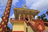 Wat Leu Temple, Sihanoukville Port, Sihanouk Province, Cambodia, Indochina, Southeast Asia, Asia Photographic Print by Richard Cummins