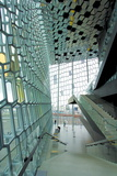 Interior of the Harpa Concert Hall, Reykjavik, Iceland, Polar Regions Photographic Print by Lee Frost
