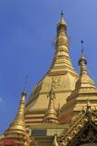 Sule Pagoda, Yangon (Rangoon), Myanmar (Burma), Asia Photographic Print by Richard Cummins