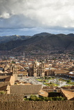 Elevated View over Cuzco and Plaza De Armas, Cuzco, Peru, South America Fotografie-Druck von Yadid Levy