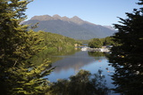 Home Creek on Lake Manapouri, Manapouri, Southland, South Island, New Zealand, Pacific Photographic Print by Stuart Black