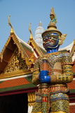 Wat Phra Kaew Inside the Royal Palace, Bangkok, Thailand, Southeast Asia, Asia Photographic Print by Tuul