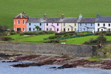 Row of Cottages at Roches Point, Whitegate Village, County Cork Photographic Print by Richard Cummins