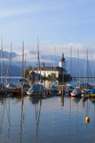 Picturesque Schloss Ort, Lake Traunsee, Gmunden, Salzkammergut, Upper Austria, Austria, Europe Photographic Print by Doug Pearson