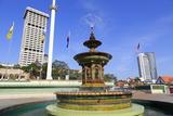 Merdeka Square Fountain, Kuala Lumpur, Malaysia, Southeast Asia, Asia Photographic Print by Richard Cummins