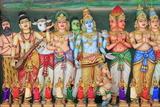 Sri Maha Mariamman Hindu Temple, Chinatown, Kuala Lumpur, Malaysia, Southeast Asia, Asia Reprodukcja zdjęcia autor Richard Cummins