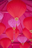 Chinese New Year Lanterns, Kowloon Bay, Kowloon, Hong Kong, China, Asia Photographic Print by Ian Trower