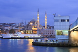 Yeni Mosque and Galata Bridge, Istanbul, Turkey, Europe Photographic Print by Richard Cummins