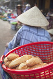 Women Selling Vegetables at Market, Hoi An, Quang Nam, Vietnam, Indochina, Southeast Asia, Asia Photographic Print by Ian Trower
