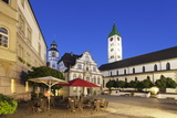 Town Hall, Market Square and St. Martin Church, Wangen Photographic Print by Markus Lange