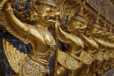 Wat Phra Kaew Inside the Royal Palace, Bangkok, Thailand, Southeast Asia, Asia Photographic Print by Tuul