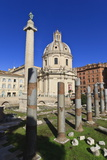 Trajan's Column and Forum, Forum Area, Rome, Lazio, Italy, Europe Photographic Print by Eleanor Scriven