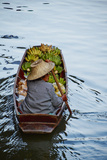 Floating Market, Damnoen Saduak, Ratchaburi Province, Thailand, Southeast Asia, Asia Photographic Print by Tuul