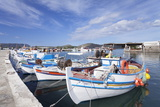 Fishing Boats and Harbour, Elounda, Lasithi Photographic Print by Markus Lange