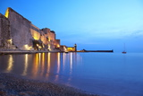 Chateau Royale, Collioure, Languedoc-Roussillon, France, Mediterranean, Europe Photographic Print by Mark Mawson
