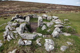 Ruins of Early Bronze Age House, About 3500 Years Old, Grimspound Photographic Print by David Lomax