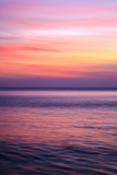 Sunrise on the Mediterrannean Sea, Collioure, Languedoc-Roussillon, France, Mediterranean, Europe Photographic Print by Mark Mawson