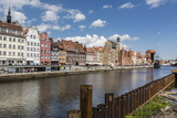 View of Old Town Gdansk from the Vistula River, Gdansk, Poland, Europe Photographic Print by Michael Nolan