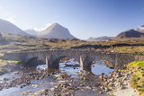 The Cuillin Hills from Sligachan on the Isle of Skye, Inner Hebrides, Scotland Photographic Print by Julian Elliott