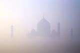 Taj Mahal at Dawn, UNESCO World Heritage Site, Agra, Uttar Pradesh, India, Asia Reproduction photographique par Peter Barritt