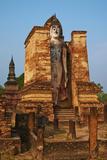 Wat Mahatat, Sukhothai Historical Park, Sukhothai, Thailand, Southeast Asia, Asia Photographic Print by Tuul