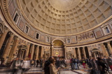 The Pantheon in Rome, Lazio, Italy, Europe Photographic Print by Julian Elliott