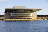 Copenhagen's Opera House by Architect Henning Larsen, Copenhagen, Denmark, Scandinavia, Europe Photographic Print by Simon Montgomery