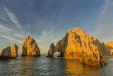 Sunrise at Land's End, Cabo San Lucas, Baja California Sur Photographic Print by Michael Nolan