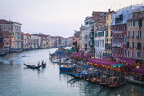 A Gondola Crossing the Grand Canal, Venice, UNESCO World Heritage Site, Veneto, Italy, Europe Photographic Print by Amanda Hall