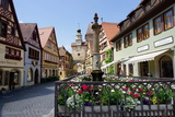 Rothenburg Ob Der Tauber, Romantic Road, Franconia, Bavaria, Germany, Europe Photographic Print by Robert Harding