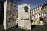 Monument to the Estonian Author Eduard Vilde, in Tallinn, Estonia, Europe Photographic Print by Stuart Forster