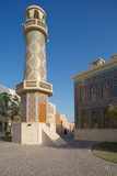 Minaret and Mosque, Katara Cultural Village, Doha, Qatar, Middle East Photographic Print by Frank Fell
