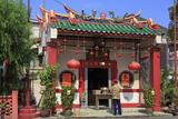 Temple in Chinatown, Melaka (Malacca), Malaysia, Southeast Asia, Asia Photographic Print by Richard Cummins